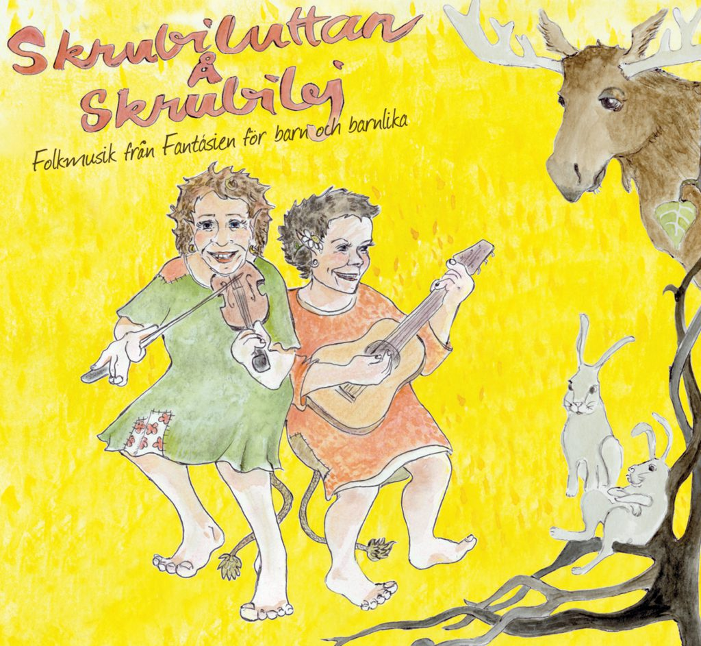 Skrubiluttan Å Skrubilej - Folkmusik från Fantásien